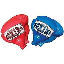 Banzai - Gants de boxe gonflables - Jeux de plein air - Couleur aléatoire (Rouge ou Bleu)