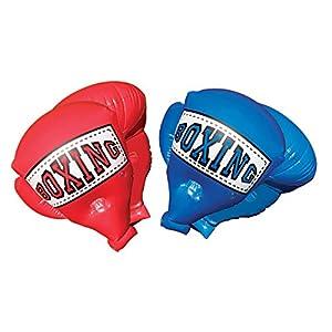 Banzai 48263 - Guantes de Boxeo Infantiles inflables Gigantes, un éxito Entre los más pequeños (Rojos)