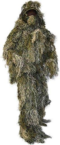 """Tarnanzug, """"Ghillie Suit"""", bestehend aus Jacke, Hose, Gewehr- und Kopfbedeckung inkl Tragetasche"""