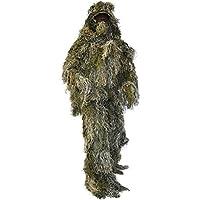 normani Tarnanzug, Ghillie Suit, bestehend aus Jacke, Hose, Gewehr- und Kopfbedeckung inkl Tragetasche