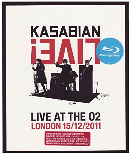 Kasabian - Live at the 02 - London 15/12/2011 (+CD)