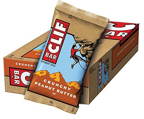 Clif Bar Barrita Energética de Avena y Crema de Cacahuete - 12 Barrit