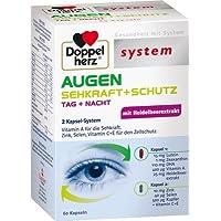 DOPPELHERZ Augen Sehkraft+Schutz System Kapseln, 60 St preisvergleich bei billige-tabletten.eu