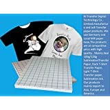 TOTAL HOME A4 Transfer Paper for T-Shirt (White) - Pack of 10