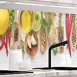 StickerProfis Küchenrückwand selbstklebend Pro KÜCHENZAUBER 60 x 400cm DIY - Do It Yourself PVC Spritzschutz