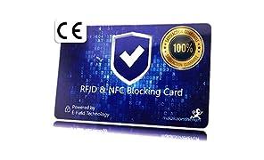 MakakaOnTheRun RFID NFC Blocker Karte bl