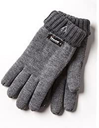 VEDONEIRE Men's Thinsulate Gloves (3120) Charcoal Grey