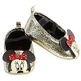 Disney Minnie Maus Baby Ballerina in Pink Oder Gold Gr. 16/17, 18, 19/20 (16/17, Gold)