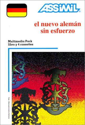 El Nuevo Alemán sin esfuerzo (1 livre + coffret de 4 cassettes) (en espagnol)