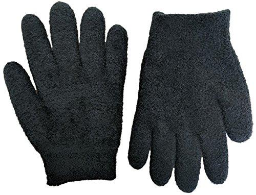 NatraCure Gel Feuchtigkeitsspendende Handschuhe - (Schwarz) (Lavendelduft) (175-RET-B)