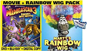 Madagascar 3: Europe's Most Wanted [Blu-ray] [2012] [US Import]