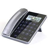 Touch Screen Touch Festnetztelefon Büro Zuhause verdrahtet sitzen (Farbe : B)