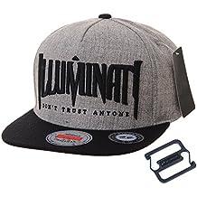 WITHMOONS Gorras de béisbol Gorra de Trucker Sombrero de Snapback Hat  Illuminati Embroidery Hip Hop Baseball 9190903a3a5