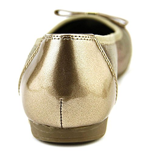 Anne Klein Sport Atalya Toile Chaussure Plate Gold Mu