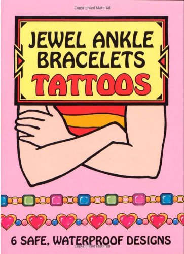 (Jewel Ankle Bracelets Tattoos (Temporary Tattoos))