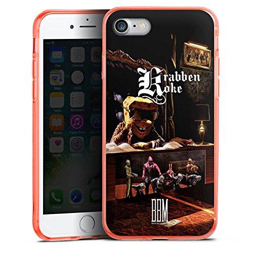 Apple iPhone 8 Silikon Hülle Case Schutzhülle Spongebozz Krabbenkoke Fanartikel Merchandise Silikon Colour Case neon-orange