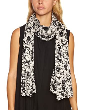 Saint Tropez J9101 Women's Scarf Black One Size