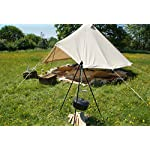 HomeZone® Portable Camping Tripod Set | Cooking, Drying Clothes, Pot Roast, Dutch Oven | Outdoor Picnic Camping BBQ… 10