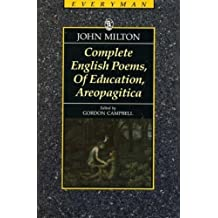 Complete Poems (Everyman's Classics) by John Milton (1990-11-15)