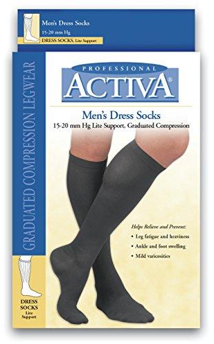 BSN medical H2542Activa Socke, kniehoch, 15-20mm HG, Größe M, Marineblau -