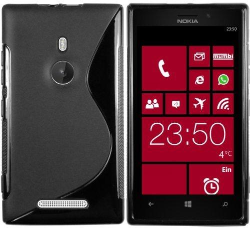 mumbi S-TPU Schutzhülle für Nokia Lumia 925 Hülle