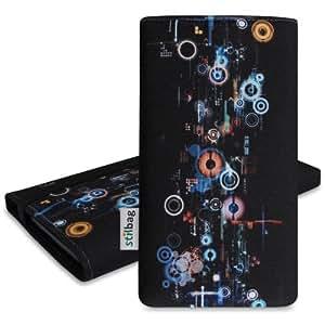 Stilbag Etui 'MIKA' pour HTC One (M8) - Dessin: Industrial