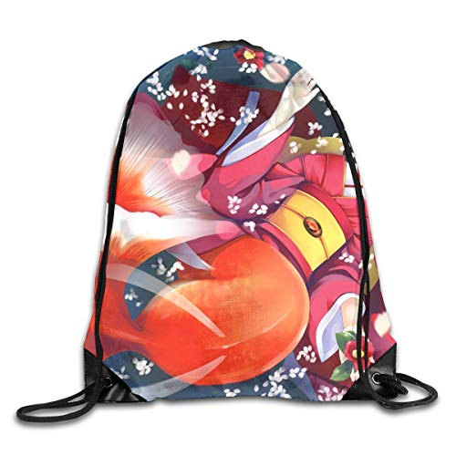 Drawstring Sports Backpack Bags Gym Bag Sack Party