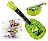 Iso Trade Kinder Ukulele Kiwi Spielzeug Gitarre Obst Design Ab 3 Jahren Musikalisch