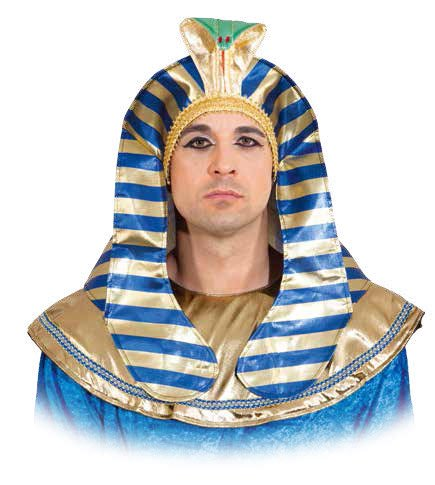 Orlob Pharao Kopfbedeckung Hut zum Ägypter Kostüm Karneval ()