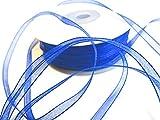 CaPiSo 100 m x 3 mm Organza (Blu)