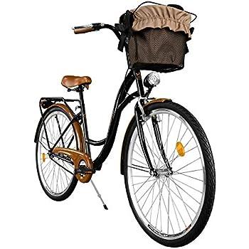 2018 Cómoda Bicicleta de Ciudad, Bicicleta, 1 Velocidades, Rueda de 28