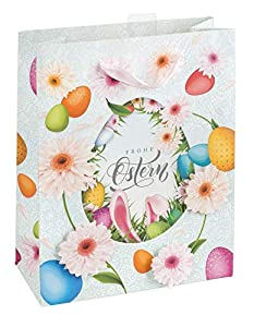 Idena 30200 - Bolsa de Regalo, diseño de Pascua, Color Blanco