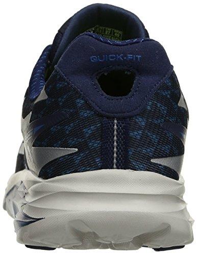 Skechers Go Run Ride 5 - Chaussures de Running Compétition - Homme Navy/Gray