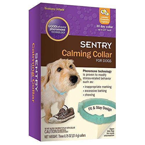 Sentry Calmante collar para perros