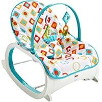 Fisher-Price Infant-to-Toddler Rocker, Geo Diamonds by Fisher-Price