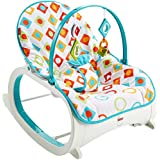 Fisher-Price Infant to Toddler Rocker Geo Diamonds, Multi Color