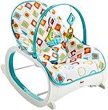Fisher-Price Infant to Toddler Rocker Geo Diamonds, Multi Color