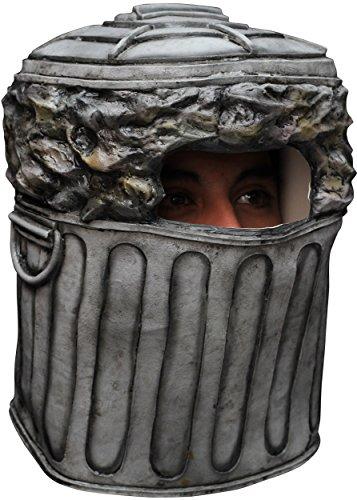Mülltonnen Kostüm - Generique - Maske Mülltonne
