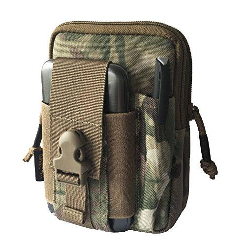 Reebow Geer Herren Taktische Miltaer EDC Molle Tasche 1000D Cordura (CS Tarnung)