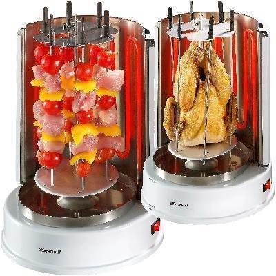 Grill verticale per pollo e kebab, nuovo