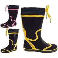 Seafarer Womens Wellies Ladies Wellington Boots Festival Waterproof Rain Size 3 4 5 6 7 8
