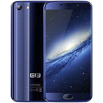 """Elephone S7 - Smartphone libre Android (5.5"""", 32 GB, 3 GB RAM, 4G, 13 MP – 5MP, Deca Core, Lector de huella, Dual SIM, Pantalla 3D), color Azul"""