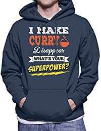 I Make Curry Disappear Whats Your Superpower Men's Hooded Sweatshirt
