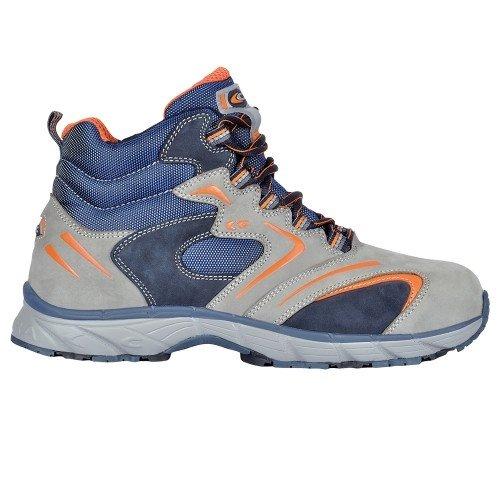 Cofra JV041-000 - Nuova sicurezza del volo lavoro scarpe s3 fitness, lacci stivali taglia 40, grigio,