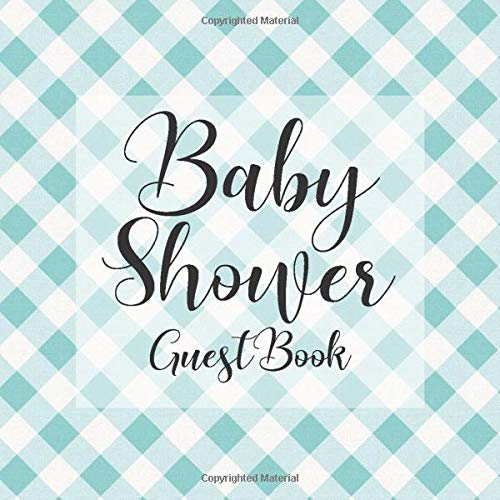 Sash Bar (Baby Shower Guest Book: Blue White Tartan Plaid Picnic BBQ Theme - Gender Reveal Boy Girl Signing Sign In Guestbook, Welcome New Baby with Gift Log ... Prediction, Advice Wishes, Photo Milestones)