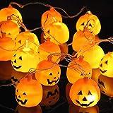20 luci a LED a forma di zucca extra large. Decorazione perfetta per le feste di Halloween. Le più grandi zucche a LED su Amazon!