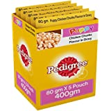 Pedigree Gravy Puppy Food, Chicken And Rice, 80 G Pouch (Pack Of 5)