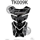 Kawasaki Z750/Z1000Negro Z Serie motocicleta tanque pad Tankpad Motografix 3d gel protector