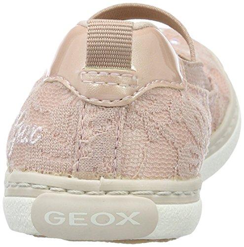 Geox JR Kilwi Girl Mädchen Geschlossene Ballerinas Pink (Dk Rosec8007)