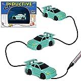 Zauber Induktiv Spielzeug Auto [Folgen Schwarze Linien] Magic Inductive Car Kleine Fahrzeuge für Kinder